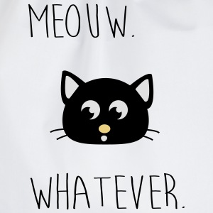 Meouw qualunque, Meow, cat. Hipster Magliette - Sacca sportiva