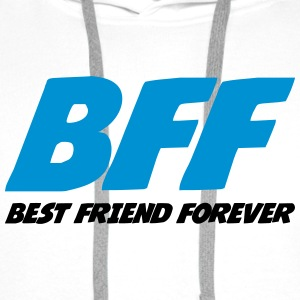 Best Friend Forever Shirts - Men's Premium Hoodie