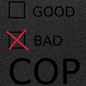 Bad Cop Shirts - Snapback Cap