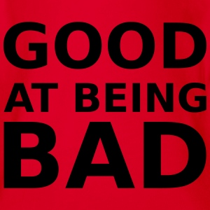 Good at being bad Shirts - Organic Short-sleeved Baby Bodysuit