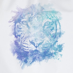Tiger Face - Abstract Creative Watercolor Style Hoodies - Drawstring Bag