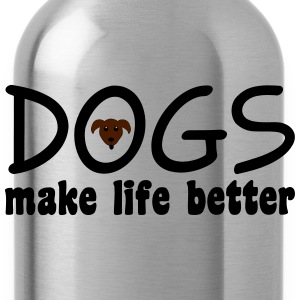 Dogs T-Shirts - Water Bottle