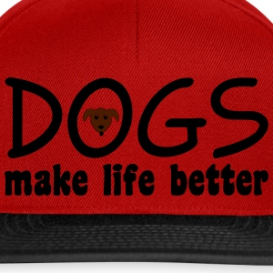 Dogs T-Shirts - Snapback Cap