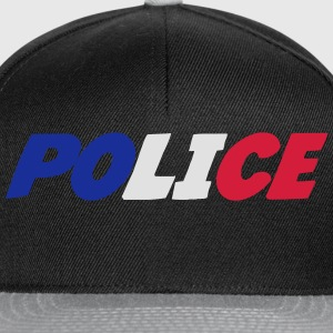 Police Tee shirts - Casquette snapback