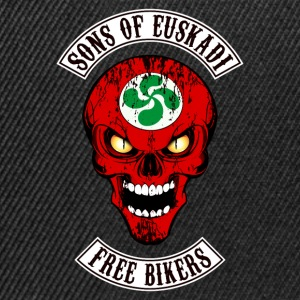 sons of euskadi - free bikers T-Shirts - Snapback Cap