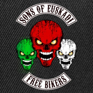 sons of euskadi - free bikers Shirts - Snapback Cap