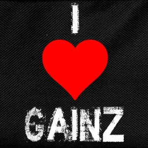 i love gains.png T-Shirts - Kids' Backpack