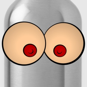 Comic breasts T-Shirts - Water Bottle