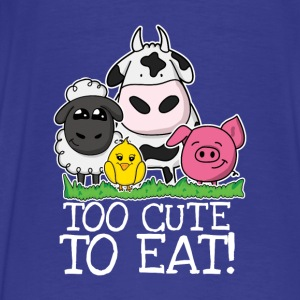 Too cute to eat - Männer Premium T-Shirt