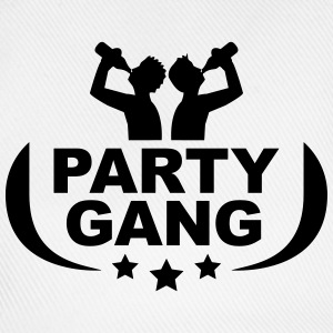 Party gang beer alcohol drink drinking T-Shirts - Baseball Cap