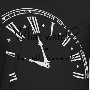 What Watch? - Männer Premium Langarmshirt