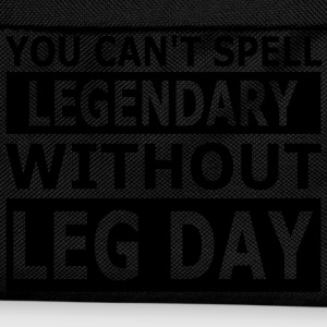 Cant Spell Legendary Without Leg Day Tank Tops - Kinder Rucksack