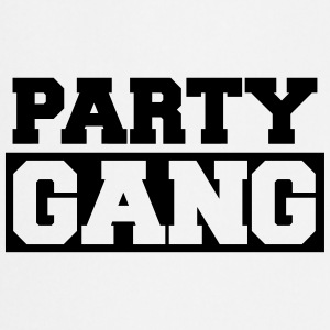 Party Gang Logo Design T-Shirts - Cooking Apron