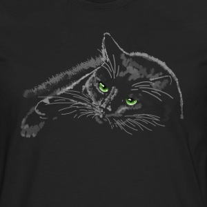 chat Tee shirts - T-shirt manches longues Premium Homme