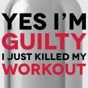 Workout T-shirts - Drinkfles