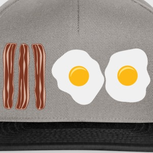 Bacon and Eggs T-Shirts - Snapback Cap