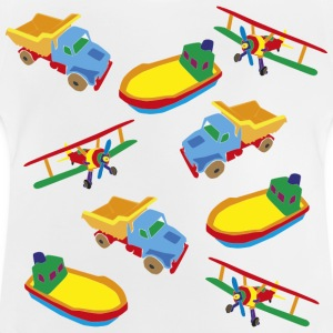 Boat, Plane, Truck - Baby T-Shirt
