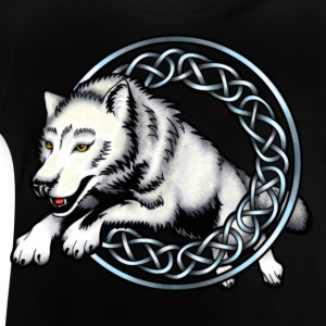 Leaping Wolf Shirts - Baby T-Shirt
