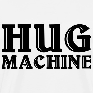 Hug Machine Sweaters - Mannen Premium T-shirt