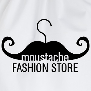 Moustache Kleiderbügel Fashion Store Shirt - Turnbeutel