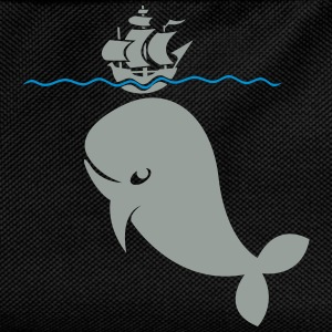 Wal under pirate ship T-Shirts - Kids' Backpack