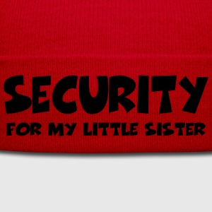 Security for my little sister Tee shirts - Bonnet d'hiver