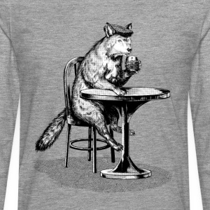 Beer Wolf T-Shirts - Men's Premium Longsleeve Shirt