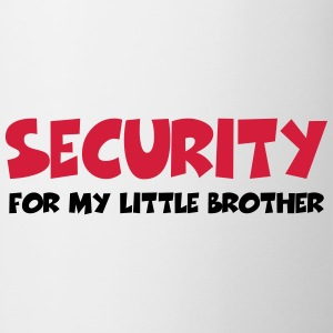 Security for my little brother T-Shirts - Mug