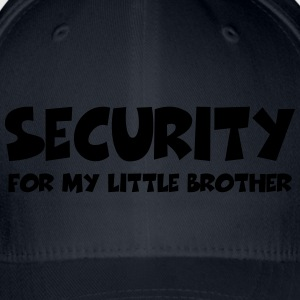 Security for my little brother T-Shirts - Flexfit Baseball Cap