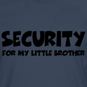 Security for my little brother T-Shirts - Men's Premium Longsleeve Shirt