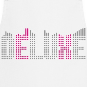 Deluxe music equalizer T-Shirts - Cooking Apron