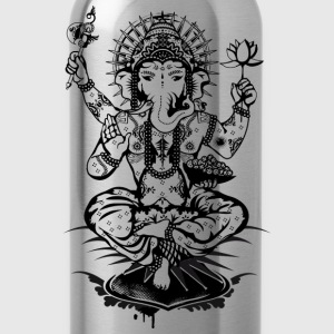 Ganesh, a god with an elephant head  Bags & Backpacks - Water Bottle