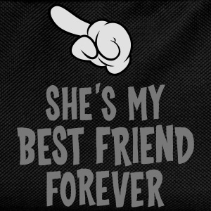 She´s My Best Friend Forever (left) T-Shirts - Kids' Backpack