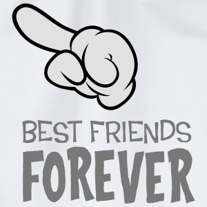 Best Friends Forever (left) T-Shirts - Turnbeutel
