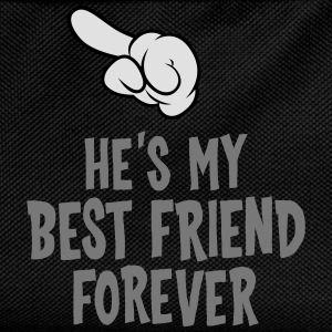 He´s My Best Friend Forever (left) T-Shirts - Kids' Backpack