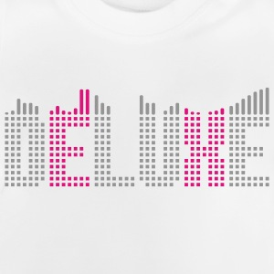 Deluxe music equalizer Shirts - Baby T-shirt