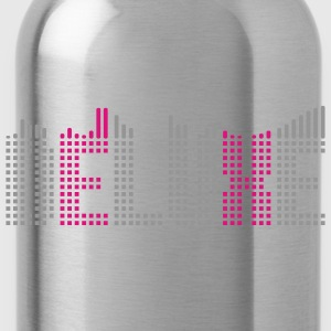 Deluxe music equalizer Shirts - Water Bottle