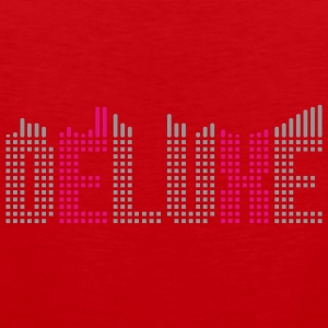 Deluxe music equalizer Tee shirts - Débardeur Premium Homme