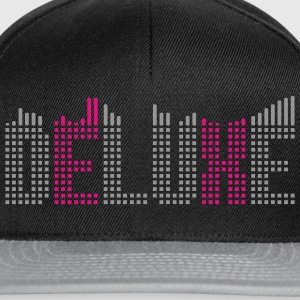 Deluxe Musik mit Equalizer T-Shirts - Snapback Cap