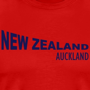 New Zealand - Auckland Tank Tops - Männer Premium T-Shirt
