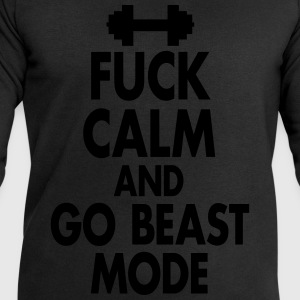 Fuck Calm And Go Beastmode - Fitness, Bodybuilding Tee shirts - Sweat-shirt Homme Stanley & Stella