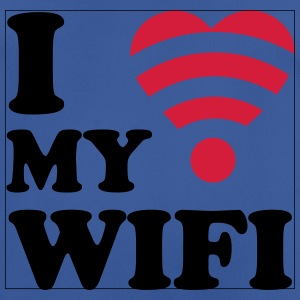 I love my wifi Sweat-shirts - T-shirt respirant Homme