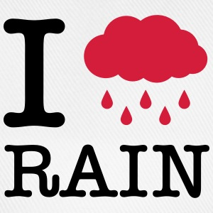 I Love Rain T-Shirts - Baseball Cap