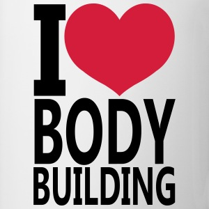 I Love Bodybuilding Canotte - Tazza