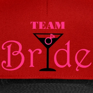 Team Bride Cocktail Tops - Snapback Cap