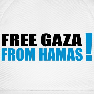 free gaza from hamas T-Shirts - Baseball Cap