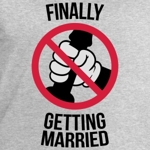 Finally getting married with cock, jerk, wank 3c Tee shirts - Sweat-shirt Homme Stanley & Stella