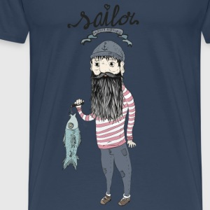 Sailor   Tops - Mannen Premium T-shirt