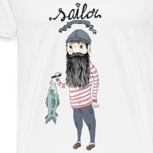 Sailor   Hoodies - Men's Premium T-Shirt
