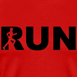 run! - running woman Tops - Männer Premium T-Shirt